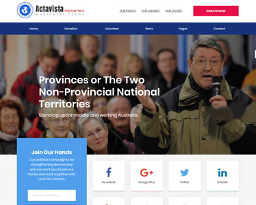Actavista WordPress Theme