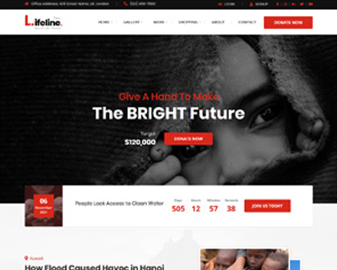 Lifeline2 WordPress Theme