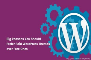 5 Big Reasons You Should Prefer Paid WordPress Themes over Free Ones