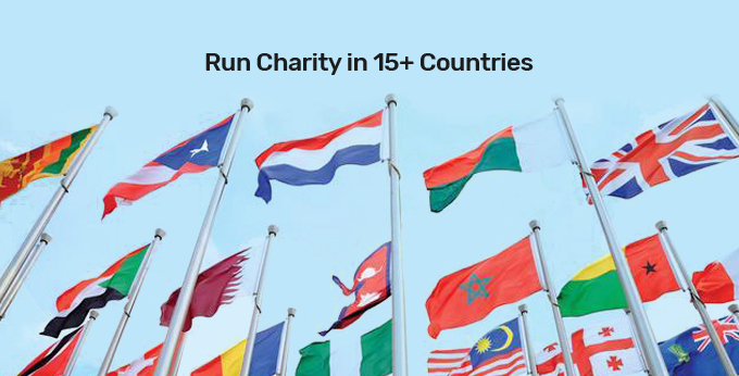 Run Charity in 15+ Countries