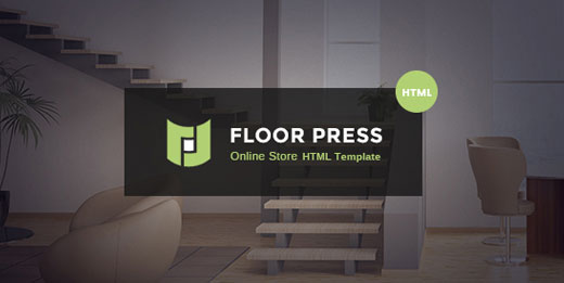FloorPress - A Responsive Sales and Services HTML Template for Flooring or Other Businesses
